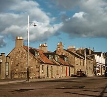 Hospital hill Dunfermline 195709080010  by Fred Mitchell
