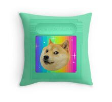 Portable Doge Throw Pillow