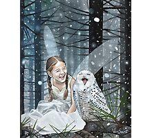 Snow Fairy Photographic Print