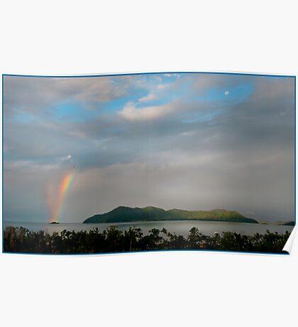 Dunk Island Rainbow Poster