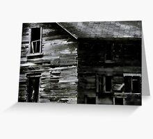 Scarey old barn Greeting Card
