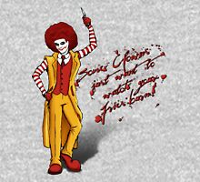 Some clowns just want to watch your fries burn! Unisex T-Shirt