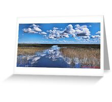 The Everglades... Greeting Card