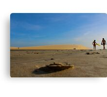 Sand Perspective on Jericoacoara National Park Canvas Print