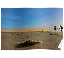 Sand Perspective on Jericoacoara National Park Poster