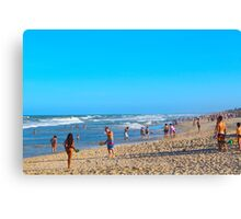 Beauty at the Beach Canvas Print