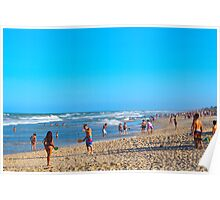 Beauty at the Beach Poster