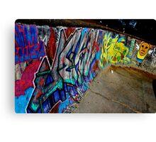 Graffiti Art in Brazil  Canvas Print
