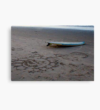 Surf Brazil Canvas Print