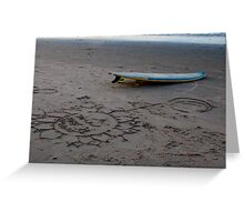 Surf Brazil Greeting Card