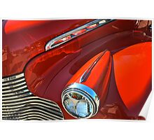 Classic Cars : Red  Poster