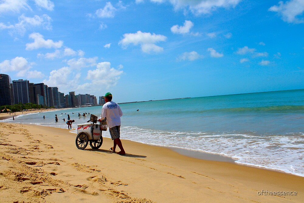 Beach in Brazil 2 by oftheessence