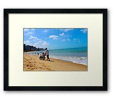 Beach in Brazil 2 Framed Print