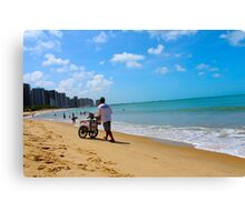 Beach in Brazil 2 Canvas Print