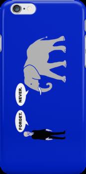 Silence vs. Elephant by carls121