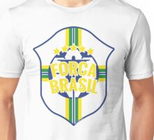 Forca Brasil World Cup 2014 Unisex T-Shirt
