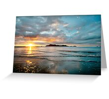 South Mission Beach Sunrise Greeting Card