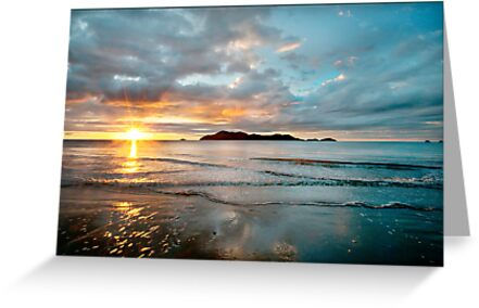 South Mission Beach Sunrise by Susan Kelly