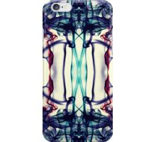 Colorful Abstract Smoke Pattern iPhone Case/Skin