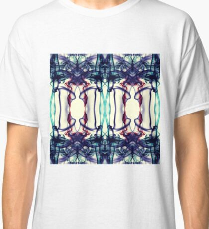 Colorful Abstract Smoke Pattern Classic T-Shirt