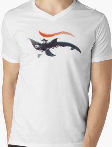 Grandpa Orca Mens V-Neck T-Shirt