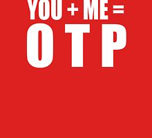 You + Me = OTP Womens Fitted T-Shirt