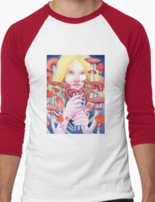 Keeper of the Scarlet Garden Men's Baseball ¾ T-Shirt