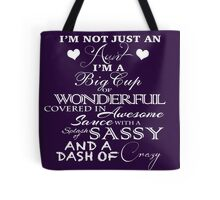 Not Just An Aunt- Purple Tote Bag