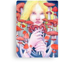 Keeper of the Scarlet Garden Canvas Print