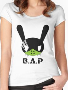 BAP MATRIX Dada Mato type I Women's Fitted Scoop T-Shirt