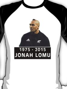 Jonah Lomu Tribute (1975 - 2015) T-Shirt
