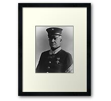 Sergeant Major Dan Daly  Framed Print