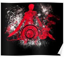 archer grunge Poster