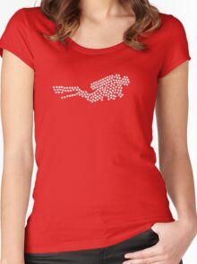 Scuba Too! Women's Fitted Scoop T-Shirt