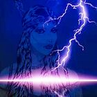 purple lightning indian maiden by daniel lamb