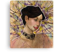 Grace among Chaos Canvas Print