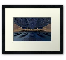 Refueling the Mothership Framed Print