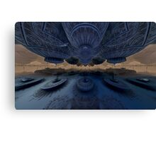 Refueling the Mothership Canvas Print
