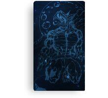 dark werewolf Canvas Print
