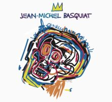 Jean Michel Basquiat Head Version 2 Kids Clothes