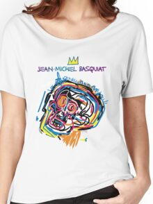Jean Michel Basquiat Head Version 2 Women's Relaxed Fit T-Shirt