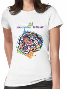 Jean Michel Basquiat Head Version 2 Womens Fitted T-Shirt