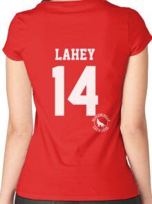 """Teen Wolf - ISAAC """"LAHEY 14"""" Lacrosse Women's Fitted Scoop T-Shirt"""