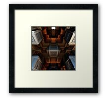 Inside the Cube Framed Print