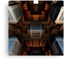 Inside the Cube Canvas Print