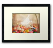 Still Life with Gumballs Framed Print