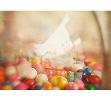 Still Life with Gumballs Photographic Print