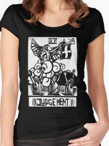 Judgement - Tarot Cards - Major Arcana Women's Fitted Scoop T-Shirt