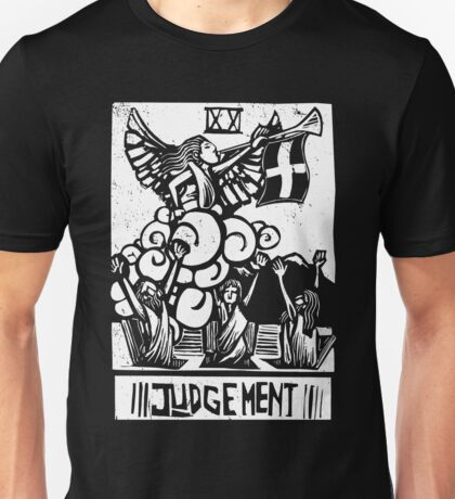 Judgement - Tarot Cards - Major Arcana Unisex T-Shirt