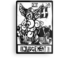 Judgement - Tarot Cards - Major Arcana Metal Print